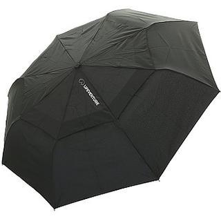 Lifeventure Trek Medium Umbrella Black (9490)