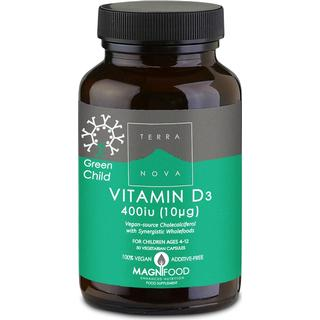 Terra Nova Vitamin D3 400iu 50 st