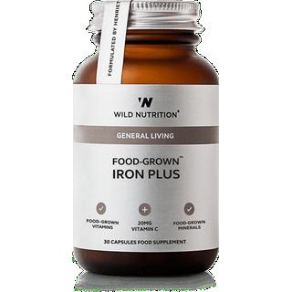 Wild Nutrition Iron Plus 30 st