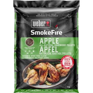 Weber Smokefire Apple All-Natural Hardwood Pellets 9kg