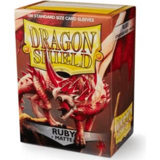 Dragon Shield Standard Sleeves Ruby Matte Rubis