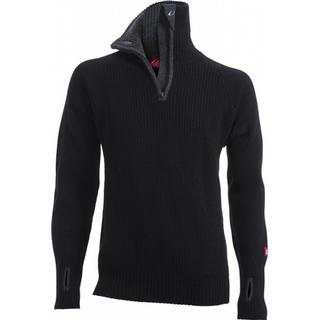 Ulvang Rav Sweater w/zip Unisex - Black/Charcoal Melange