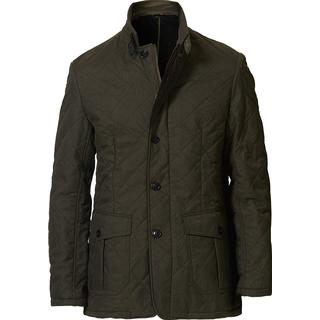 Barbour Relond Quilted Polar Fleece Jacket - Olive