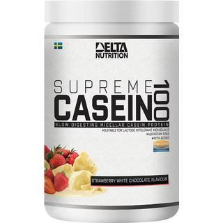 Delta Nutrition Supreme Casein 100 Strawberry & White Chocolate 900g