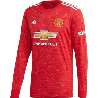 Adidas Manchester United Home LS Jersey 20/21 Sr