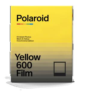 Polaroid Black and Yellow 600 Film Duochrome Edition