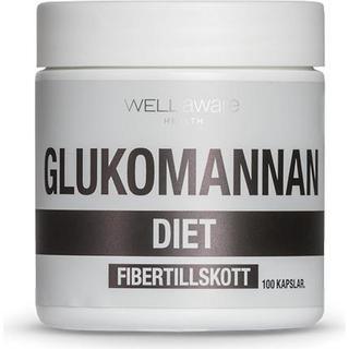 WellAware Glukomannan 100 st