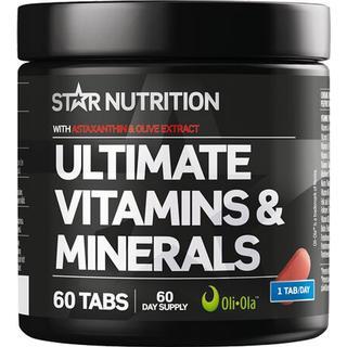 Star Nutrition Ultimate Vitamins & Minerals 60 st