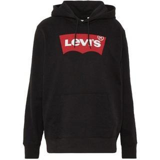 Levi's Logo Pullover Hoodie - Black