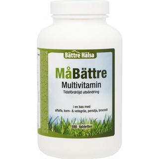 Bättre hälsa MåBättre Multivitamin 180 st