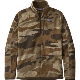 Patagonia Better Sweater 1/4-Zip Fleece Jacket - Kansas Sky/Classic Tan