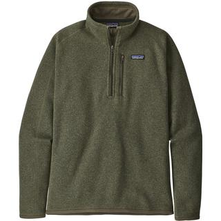 Patagonia Better Sweater 1/4-Zip Fleece Jacket - Industrial Green