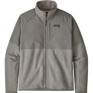 Patagonia Lightweight Better Sweater Shelled Fleece Jacket - Feather Grey