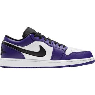 Nike Air Jordan 1 Low M - Court Purple/White/Hot Punch/Black