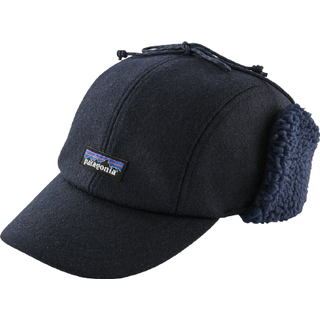 Patagonia Recycled Wool Ear Flap Cap - Classic Navy