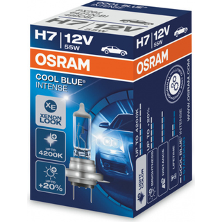 Osram H7 Cool Blue Intense Halogen Lamp 55W PX26d