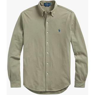 Polo Ralph Lauren Featherweight Mesh Shirt - Sage Green