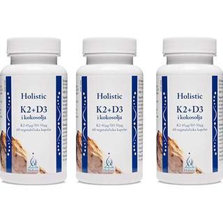 Holistic K2+D3 Coconut Oil 3 st