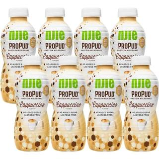 NJIE ProPud Protein Milkshake Cappuccino 330ml 8-pack 8 st