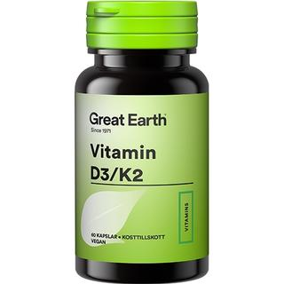 Great Earth Vitamin D3/K2 60 st
