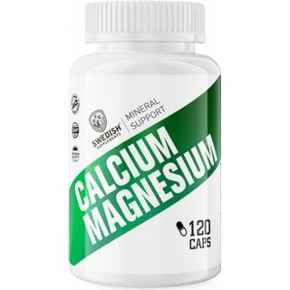 Swedish Supplements Calcium Magnesium 120 st