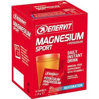 Enervit Magnesium+Potassium 15g 10 st