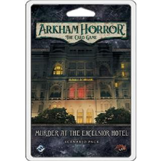 Fantasy Flight Games Arkham Horror: Murder at the Excelsior Hotel Scenario Pack