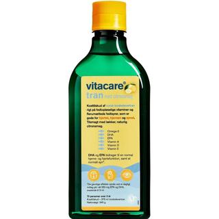 Vitacare Tran med Citronsmag 375ml