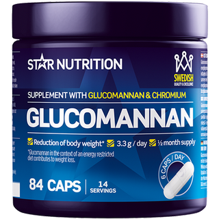 Star Nutrition Glucomannan 84 st