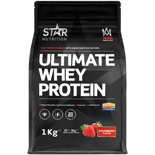 Star Nutrition Ultimate Whey Protein Strawberry 1kg