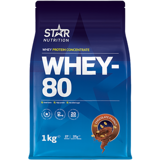Star Nutrition Whey-100 Chocolate Peanut Butter 1kg