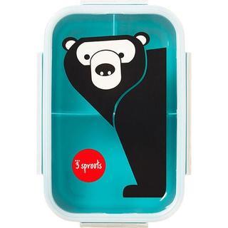3 Sprouts Bear Bento Box