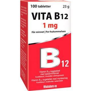 Vitabalans Vita B12 1mg 100 st