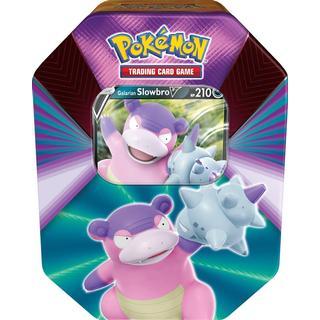 Pokémon V Forces Tin Galarian Slowbro V