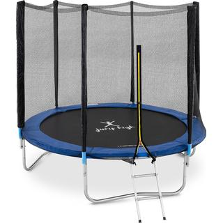 Uniprodo Trampoline 240cm + Safety Net + Ladder