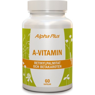 Alpha Plus A-Vitamin 60 st