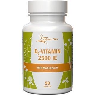 Alpha Plus D3 Vitamin 2500 IE 90 st