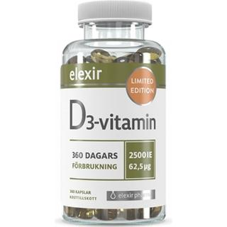 Elexir Pharma D3-Vitamin 2500 IE 360 st
