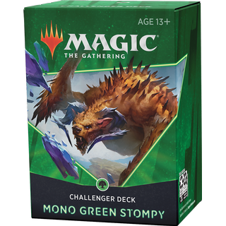Wizards of the Coast Magic The Gathering Challenger Deck 2021 Mono Green Stompy