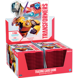 Wizards of the Coast Transformers Booster Display