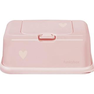 Funkybox Wet Wipes Pale Pink Heart