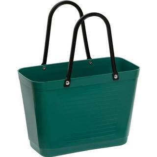 Hinza Shopping Bag Small (Green Plastic) - Dark Green