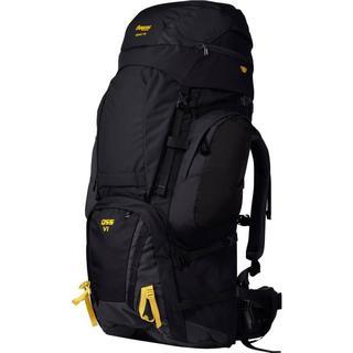 Bergans Alpinist V6 Large 130L - Black/Waxed Yellow