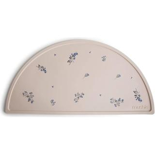 Mushie Silicone Placemat Lilac Flowers