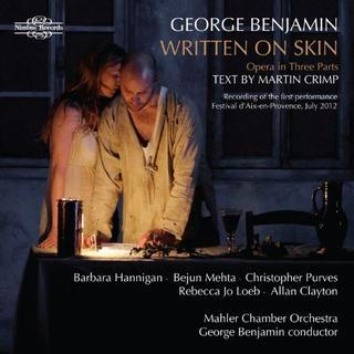 Victoria Simmonds (mezzo-soprano) - George Benjamin, Written on Skin, Duet for Piano and Orchestra (2 CD set)