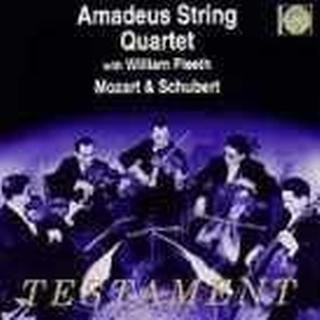 Mozart/schubert Quartet - Sinfonia Concertante/ståkkvartet