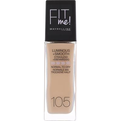Maybelline FIT Me Foundation #105 Natural Ivory