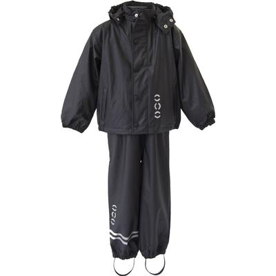 Mikk-Line PU Rainwear Basic Set - Black (3330-190)