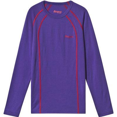 Bergans Fjellrapp Youth Shirt - Primula Purple