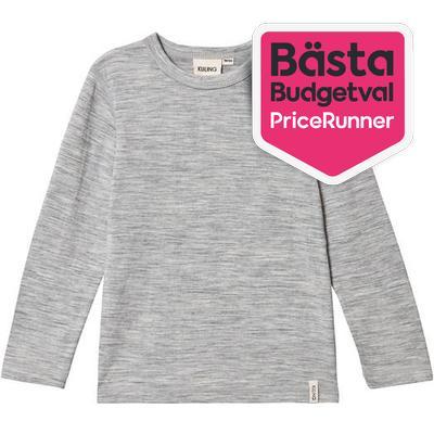 Kuling Ull T-Shirt - Grey Melange (481673)